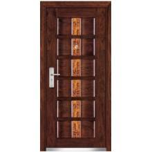 portas de madeira aço blindadas