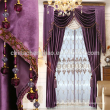 China supplier european style luxury church curtains for sale
