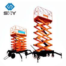 Peso hidráulico de la elevación de la tabla de la plataforma de trabajo de la alta subida de la venta caliente