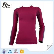 Mädchen-Körper-Form-nahtlose Winter-Sport-Unterwäsche