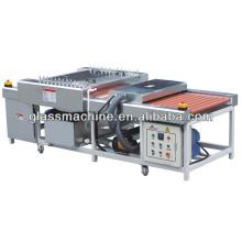 YX800 Máquina de arruela de vidro para vidro de lavar e secar peças 75 * 75mm 800 * 1500mm