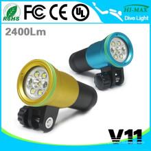 High Luminosité HI-MAX Scuba Set LED Plongée Lampe de poche pour compresseur Plongée