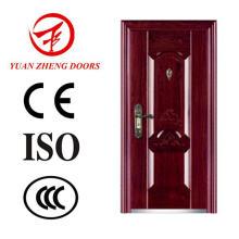 Proveedor de China Seguridad de lujo puerta de entrada de acero