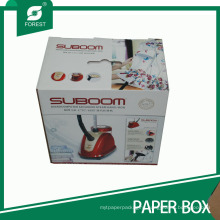 Custom Cmyk Printing Cardboard Box for Household Electric Iron Packaging