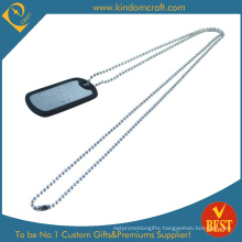 Custom 3D Dog Tag with Embossed Logo (LN-0167)