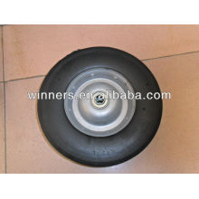 10x2.75 wide solid rubber coated wheel 10""
