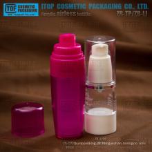 Lindo elegante estilo diferente pinguim bomba cor personalizável alta qualidade redonda como garrafa de plástico sem ar
