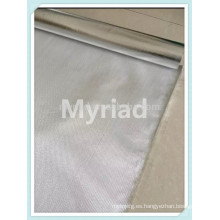 Tela de malla de fibra de vidrio, laminación de fibra de vidrio de aluminio laminado, material de techo reflectante y plata