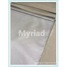 Pano de malha de fibra de vidro, laminação de fibra de alumínio folha de alumínio, materiais de cobertura reflexiva e prata