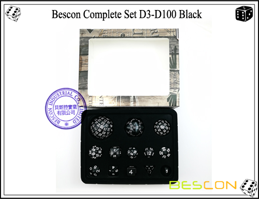 Complete Dice Set D3-D100 (15)