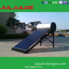 Non-pressured vacuum tubes solar water heater