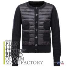 2017 Bulk Wholesale Goose Down Filling Fashion Long Sleeve Men Winter Jacket