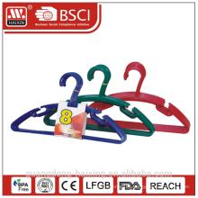 Пластиковые вешалки, рециркулированных материалов одежда hanger(8pcs)