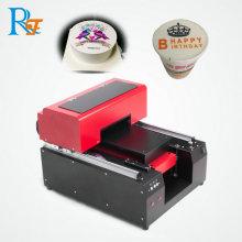 Refinecolor coffee shop with printer machine