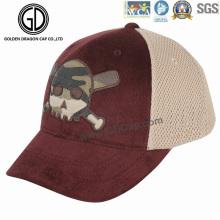 2016 Neuer Entwurfs-Camo druckte Charpie-Fernlastfahrer-Hut mit Stickerei