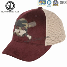 2016 El nuevo diseño Camo imprimió el sombrero del camionero de Charpie con el bordado
