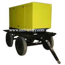 10кВА ~ 250кВА Дизельный генератор с бесшумным прицепным приводом