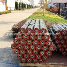 Rouleau de convoyeur de tuyau / rouleau de système de convoyeur / rouleau de convoyeur de tuyau