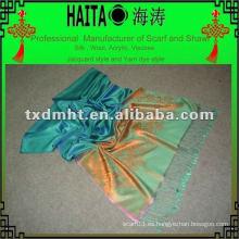 Diseño de chal de bufanda