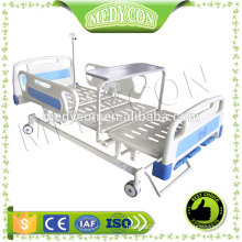 ABS 3 functions manual hospital bed,with diner table