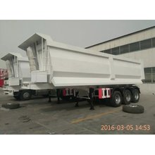 Sinotruk Cimc 3Axles Tipping Trailer Xe tải