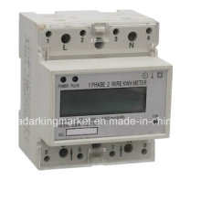 Multi Tariff Single Phase DIN Rail Electronic Multi Function Meter