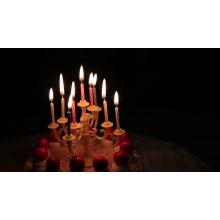 Birthday Spiral Cake Decoration Candles