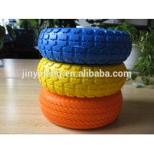 10 inch (10x3.50-4) PU foam wheel for hand truck,hand trolley,lawn mover,wheelbarrow,toolcarts