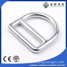 Metal d ring for decorative school bag luggage handbag for women
