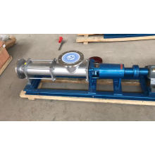 Stainless steel electric moto progressing cavity single screw oil pump