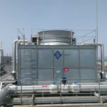 CTI Certified Jnt-350 Series Complete Stainless Steel Cross Flow Cooling Tower