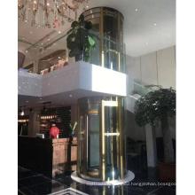 Villa Round Residential Glass Elevators Panoramic Elevator