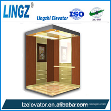 Villa Elevator with Wooden Etching