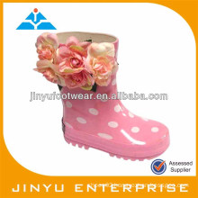 Kids jelly rain boots shoes