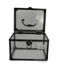 The Basic Black Acrylic Cosmetic Cases (hx-q056)