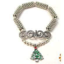 Christmas Jewelry/Christmas Bracelet/Christmas Tree (XBL13142)