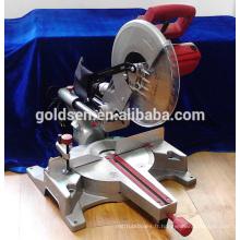 1900W 15A 305mm Machine à découper en aluminium industriel Scie à onglet composée à découpage électrique à 12 po