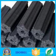 Bâton à hexagone noir haute performance carbone carbone