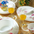 Hitzebeständige Opal Glas-38PCS Dinner Set