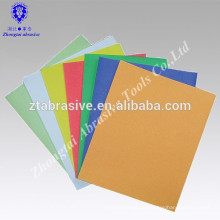 OEM 9 '' * 11 '' (230 * 280mm) buntes Sandpapier / Kunstpapier