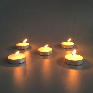 Long Burning Wax Tea Light Nến Polybag