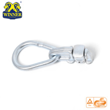 Best Selling Zinc Plated Double Stud Fitting With Oval Ring