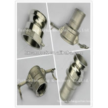 Stainless steel gas pipe coupling