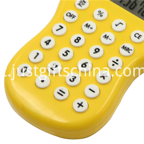 Promotional Cartoon Baby Foot Shaped Calculator_4