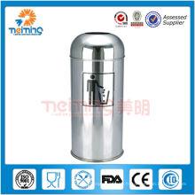 Poussoir en acier inoxydable (poubelle extérieure, poubelle)