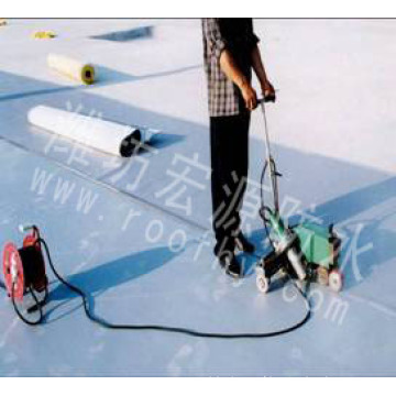 Flexible PVC Waterproofing Membrane / Roofing Materials