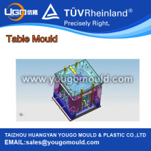 Plastic Table with Leg Mould