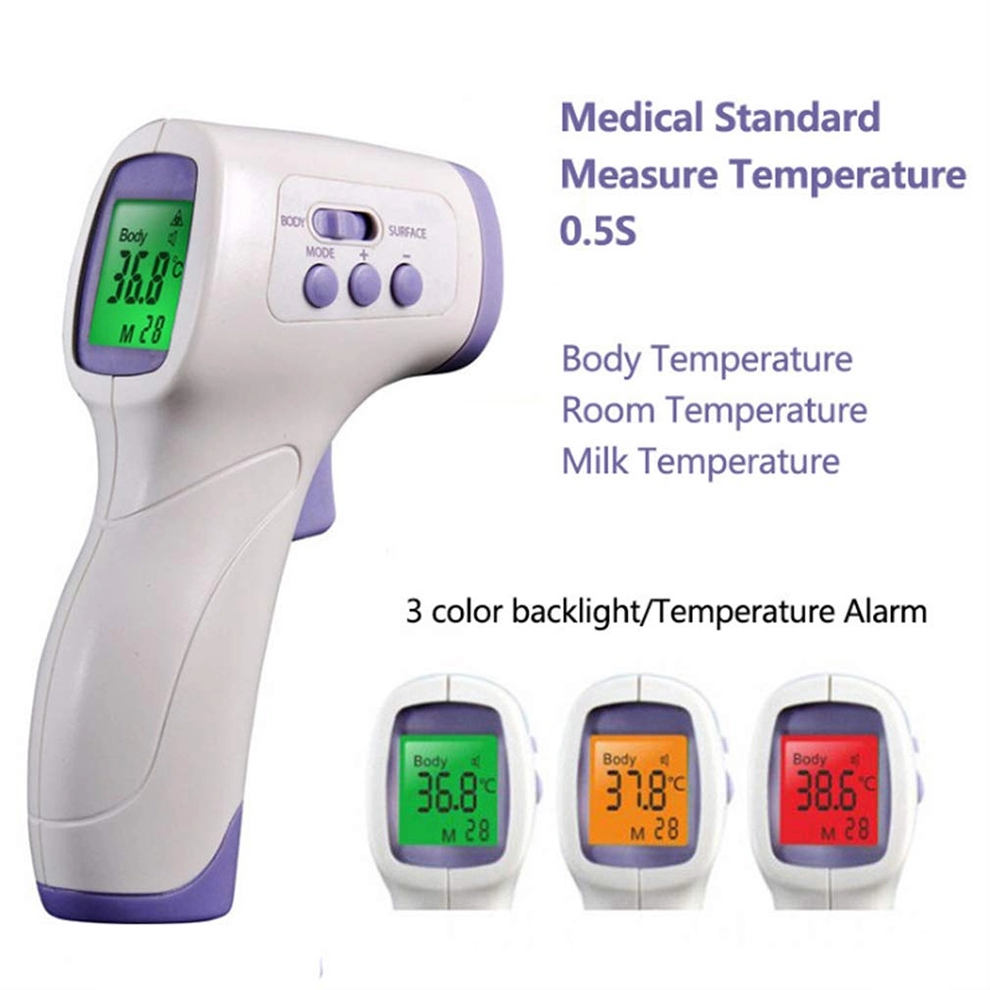 Digital Infrared Forehead Thermometer Gun 5