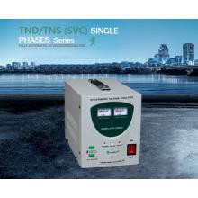 Estación estabilizadora de voltaje de 1kVA monofásica AVR AC para el hogar