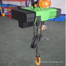 Grue à chaînes électrique européenne 250kg de conception allemande